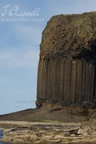 Basalt columns (Isle of Staffa, Scotland)