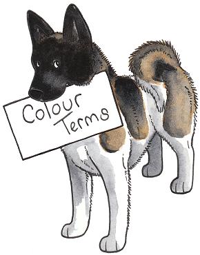 Colour term list including body part diagram colour term list including body part diagram ccuart Image collections