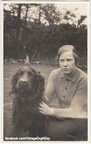 """Rufus, Cath's Red Setter"", UK, undated"